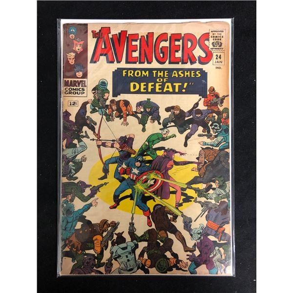 THE AVENGERS #24 (MARVEL COMICS)