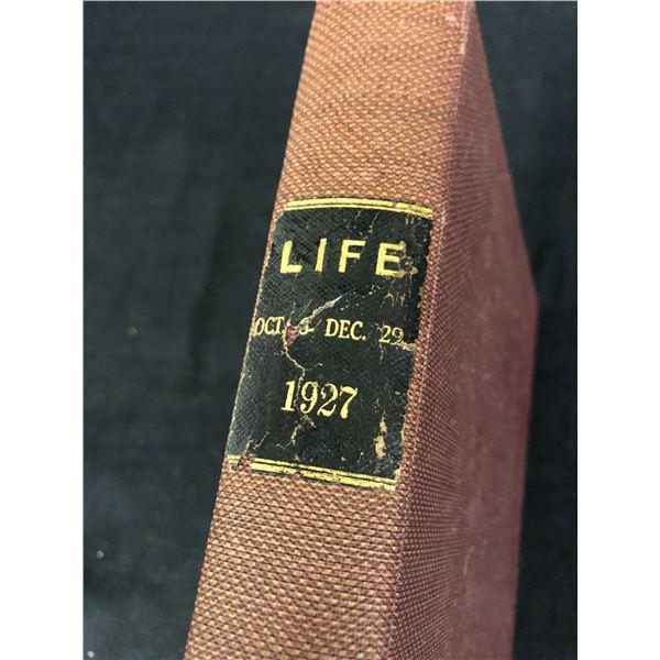 VINATGE 1927 LIFE (OCT 6- DEC 29)