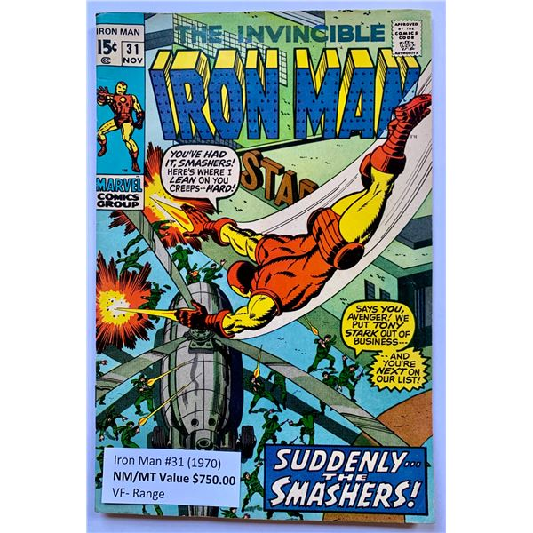 THE INVINCIBLE IRON MAN #31 (MARVEL COMICS)