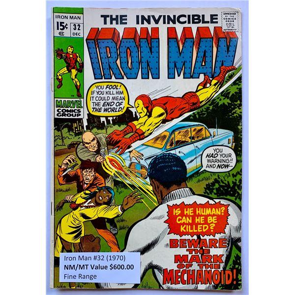 THE INVINCIBLE IRON MAN #32 (MARVEL COMICS)