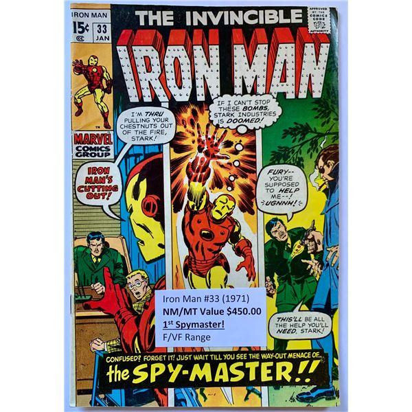THE INVINCIBLE IRON MAN #33 (MARVEL COMICS)