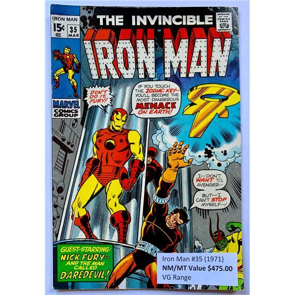 THE INVINCIBLE IRON MAN #35 (MARVEL COMICS)