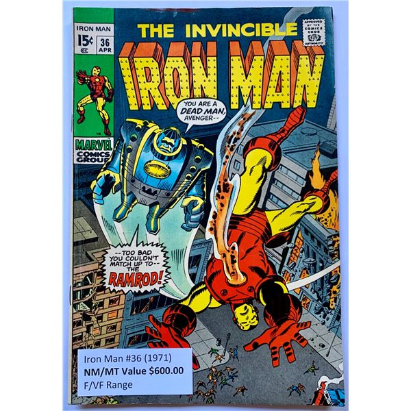 THE INVINCIBLE IRON MAN #36 (MARVEL COMICS)
