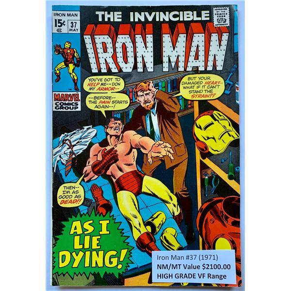 THE INVINCIBLE IRON MAN #37 (MARVEL COMICS)