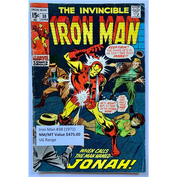 THE INVINCIBLE IRON MAN #38 (MARVEL COMICS)