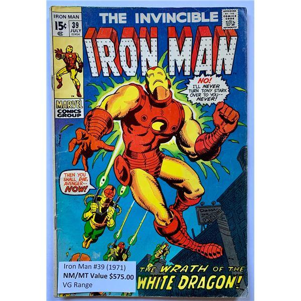THE INVINCIBLE IRON MAN #39 (MARVEL COMICS)