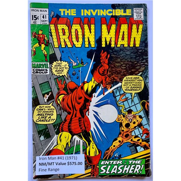 THE INVINCIBLE IRON MAN #41 (MARVEL COMICS)