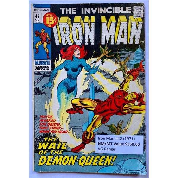 THE INVINCIBLE IRON MAN #42 (MARVEL COMICS)