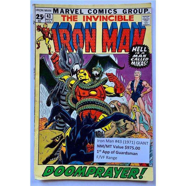 THE INVINCIBLE IRON MAN #43 (MARVEL COMICS)
