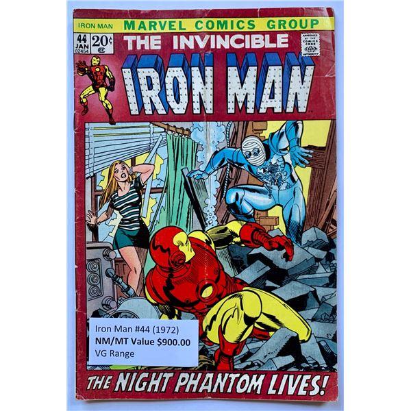 THE INVINCIBLE IRON MAN #44 (MARVEL COMICS)