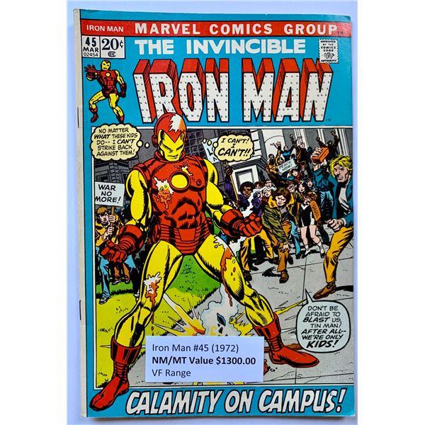THE INVINCIBLE IRON MAN #45 (MARVEL COMICS)