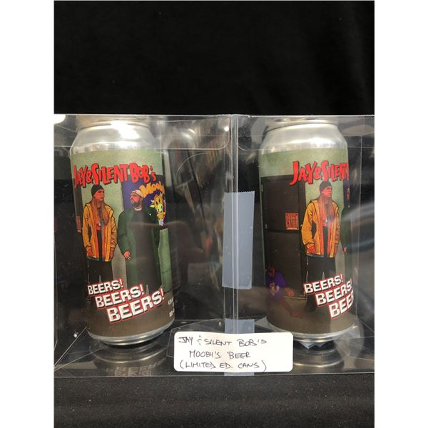 JAY & SILENT BOB'S MOOBY'S BEER (LIMITED EDITION CANS)