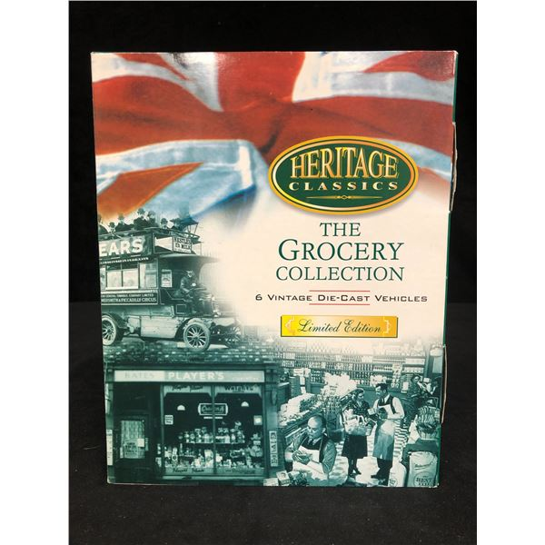 """LIMITED EDITION HERITAGE CLASSICS """"THE GROCERY""""DIE-CAST COLLECTION"""