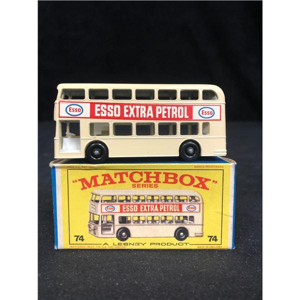 MATCHBOX #74 DAIMLER BUS WITH ESSO AD