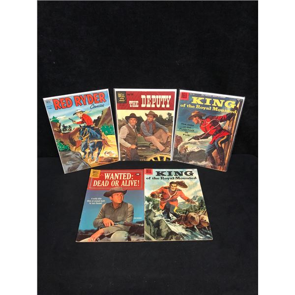 ASSORTED WESTERN COMIC BOOK LOT