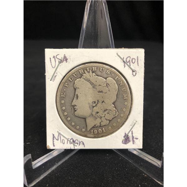 1901 USA MORGAN SILVER DOLLAR (NEW ORLEANS MINTED)