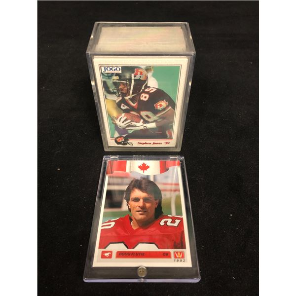 EARLY 1990s CFL FOOTBALL CARDS