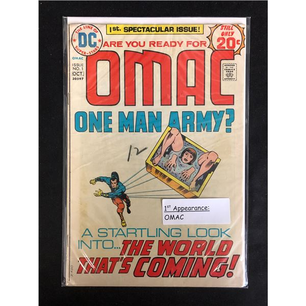 OMAC One Man Army! #1 (DC COMICS)