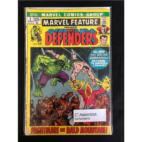 MARVEL FEATURE Presents The DEFENDERS #2 (MARVEL COMICS)