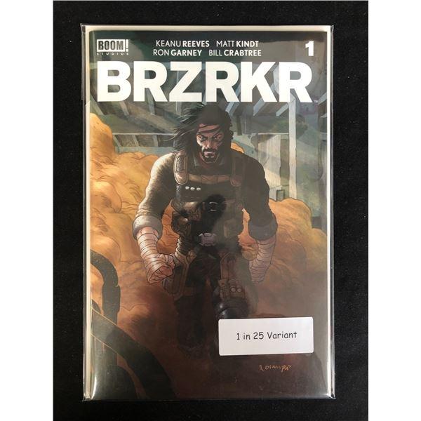 BRZRKR #1 (BOOM STUDIOS) *RARE* 1 in 25 Variant
