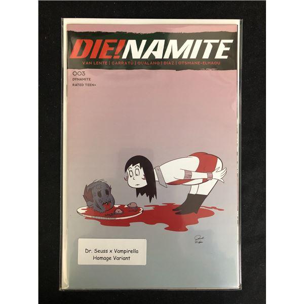 DIE!NAMITE #003 (DR. SEUSS X VAMPIRELLA HOMAGE VARIANT)