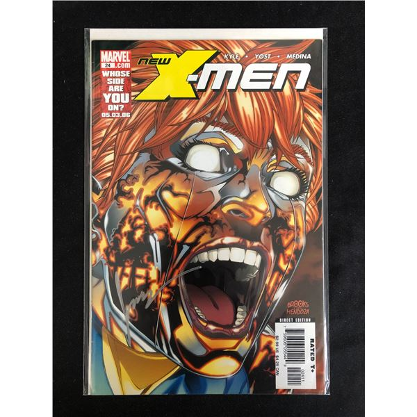 NEW X-MEN #24 (MARVEL COMICS) Signed by Jamie Mendoza