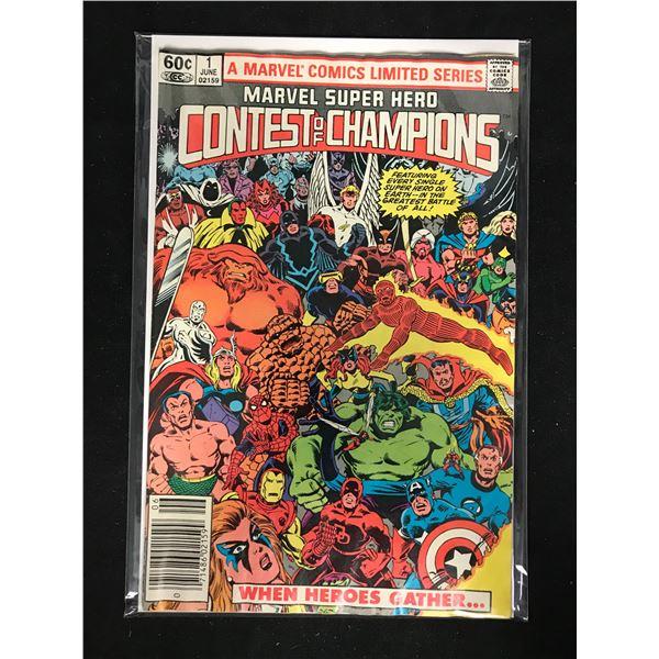 Marvel Super Hero CONTEST of CHAMPIONS #1 (MARVEL COMICS)