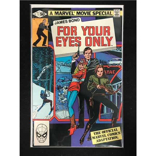 James Bond FOR YOUR EYES ONLY #1 (MARVEL MOVIE SPECIAL)