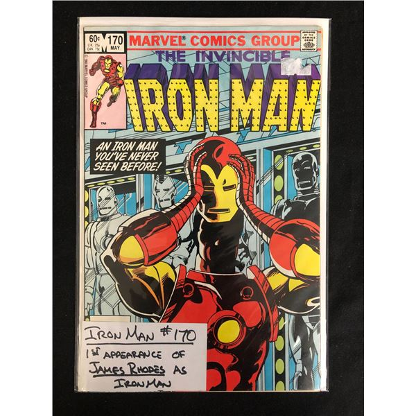 The Invincible IRON MAN #170 (MARVEL COMICS)