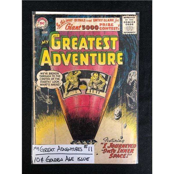 MY GREATEST ADVENTURE #11 (DC COMICS) 10c Golden Age Issue