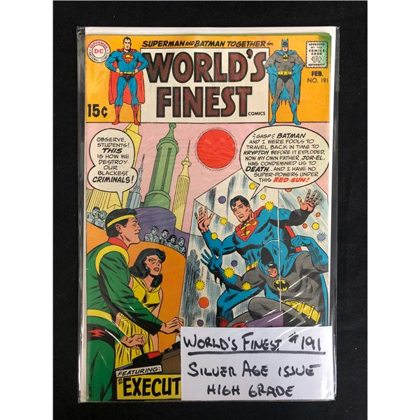 WORLDS FINEST #191 (DC COMICS)