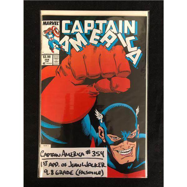CAPTAIN AMERICA #354 (MARVEL COMICS)