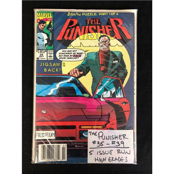 THE PUNISHER #35-39 (MARVEL COMICS)