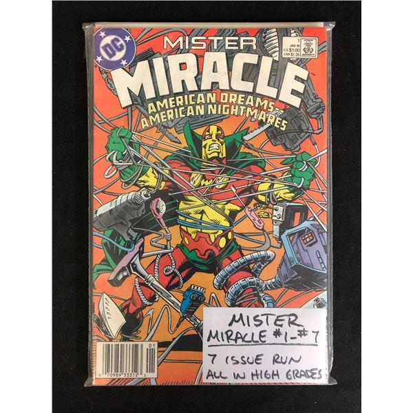 MISTER MIRACLE #1-7 (DC COMICS)