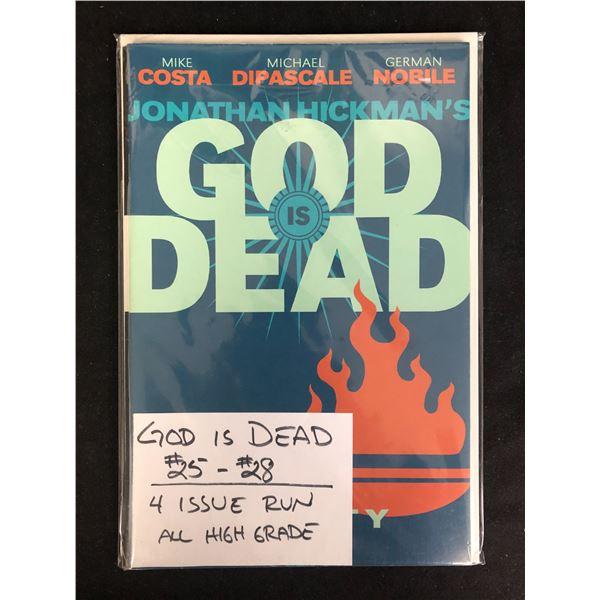 GOD IS DEAD #25-28