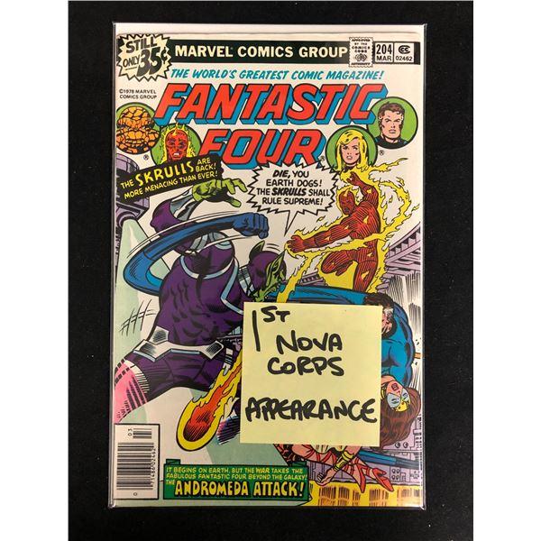 FANTASTIC FOUR #204 (MARVEL COMICS)