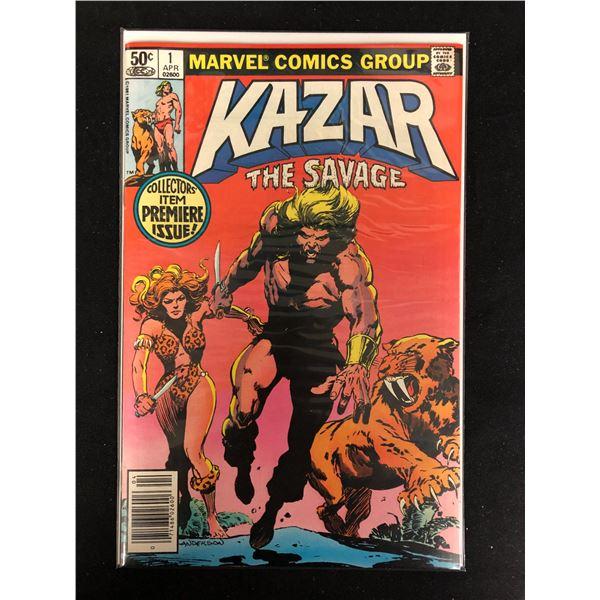 KAZAR The Savage #1 (MARVEL COMICS)