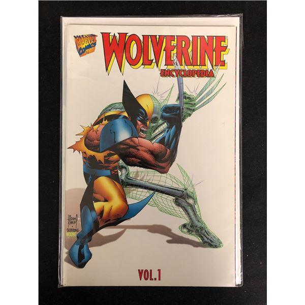 WOLVERINE ENCYCLOPEDIA Volume 1 (MARVEL COMICS)