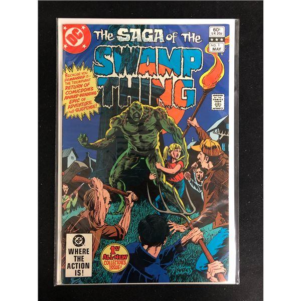 The Saga of The SWAMP THING #1 (DC COMICS)