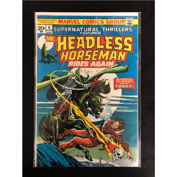The HEADLESS HORSEMAN Rides Again #6 (MARVEL COMICS)