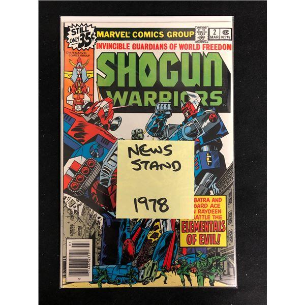 SHOGUN WARRIORS #2 (MARVEL COMICS) 1978