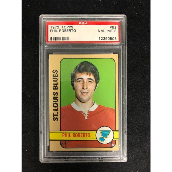 1972 TOPPS #52 PHIL ROBERTO (NM-MT 8)