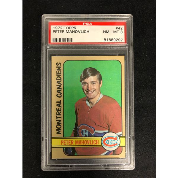 1972 TOPPS #42 PETER MAHOVLICH (NM-MT 8)