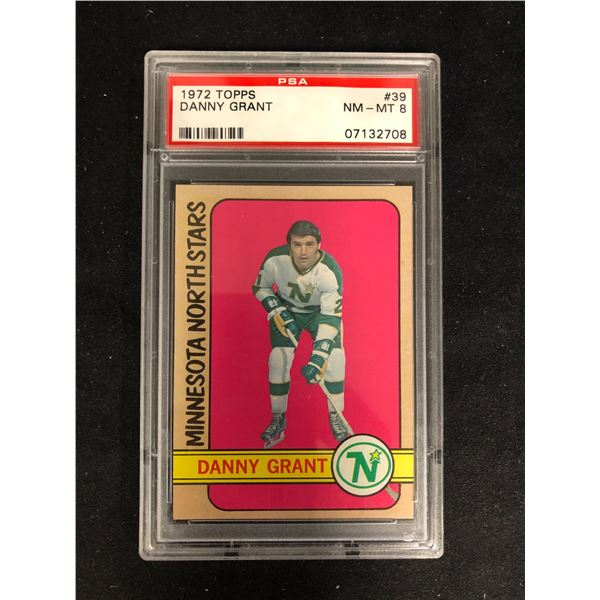 1972 TOPPS #39 DANNY GRANT (NM-MT 8)