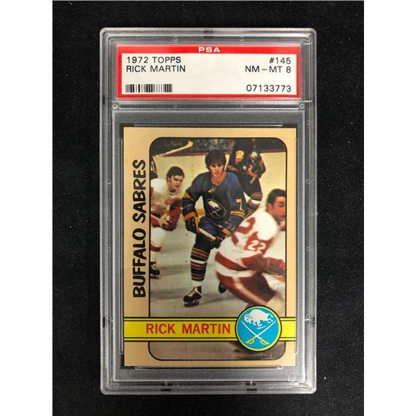 1972 TOPPS #145 RICK MARTIN (NM-MT 8)