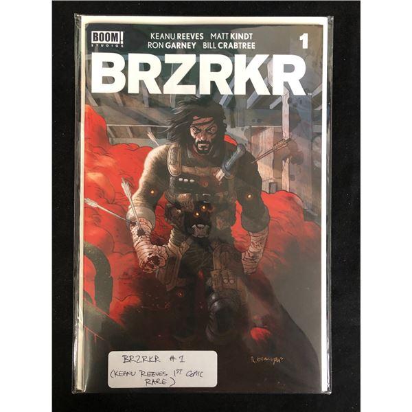 BRZRKR #1 (BOOM STUDIOS) Keanu Reeves 1st Comic *RARE*