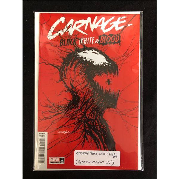 CARNAGE Black, White & Blood #1 (MARVEL VARIANT)