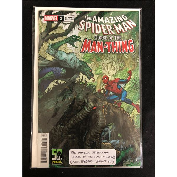The AMAZING SPIDER-MAN Curse of the MAN-THING (MARVEL VARIANT)