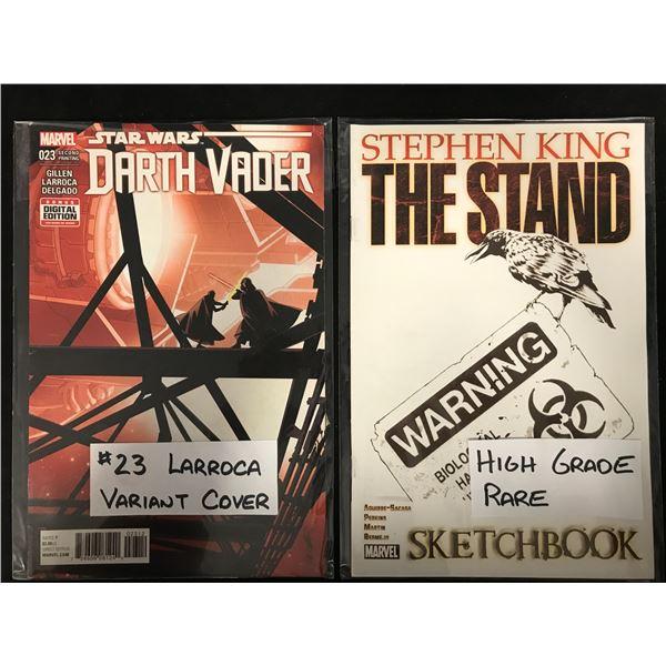 Star Wars DARTH VADER #023/ Stephen King THE STAND SKETCHBOOK (MARVEL)