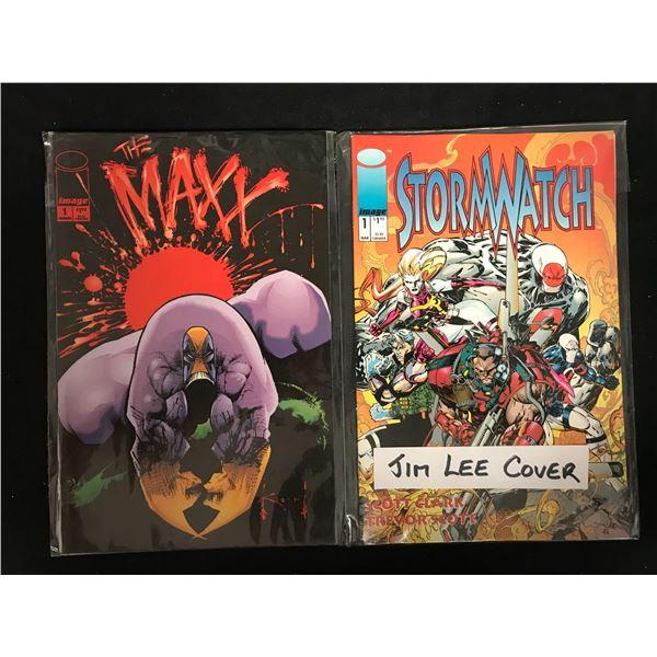 THE MAXX #1 & STORMWATCH #1 (IMAGE COMICS)